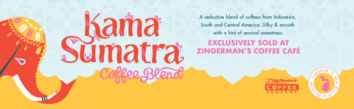 Kama Sumatra Coffee Blend—Exclusively sold at Zingerman's Coffee Café
