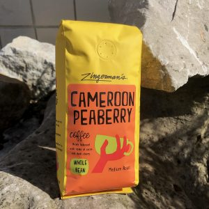 coffee bag of Cameroon Peaberry