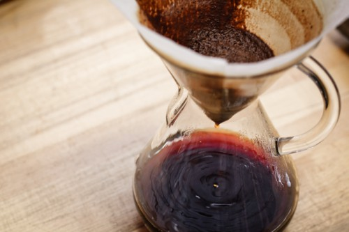 Chemex or pour over coffee brew method
